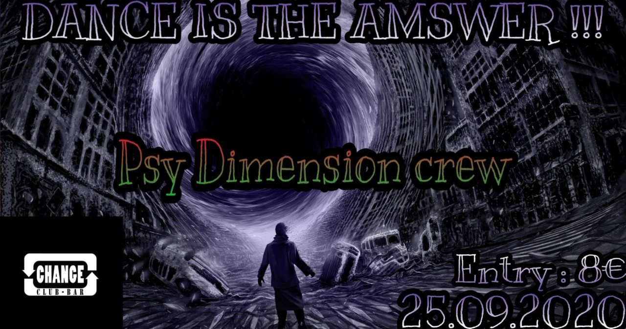 PSY DIMENSION 25 Sep '20, 18:00