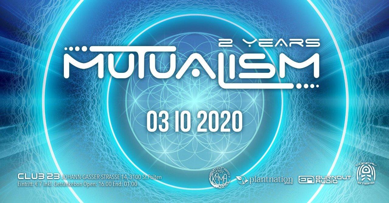 MUTUALISM 3 Oct '20, 16:00