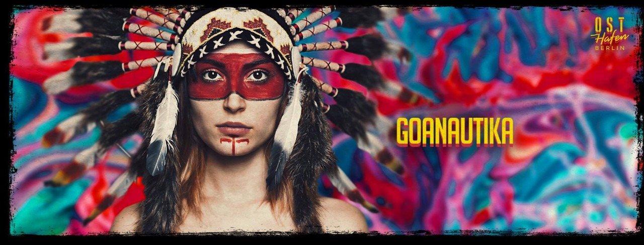 Party Flyer Goanautika Open Air /w. Querox 10 Oct '20, 14:00