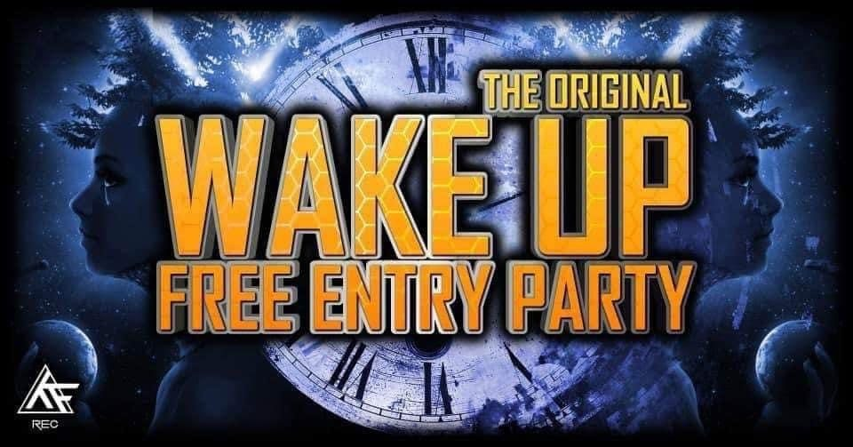 Party Flyer Wake Up 16 Oct '20, 22:00
