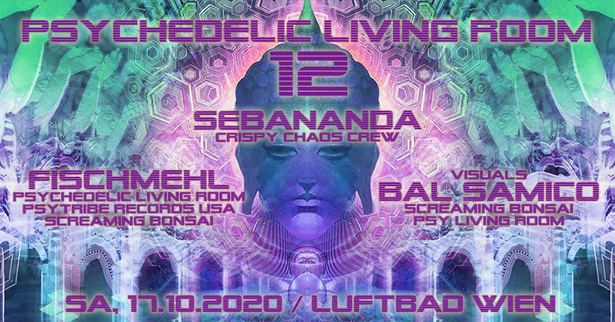 Psychedelic Living Room #12 17 Oct '20, 19:00