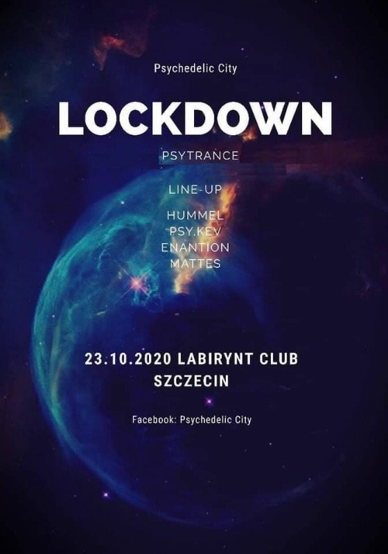 Party Flyer Lockdown 23 Oct '20, 23:00