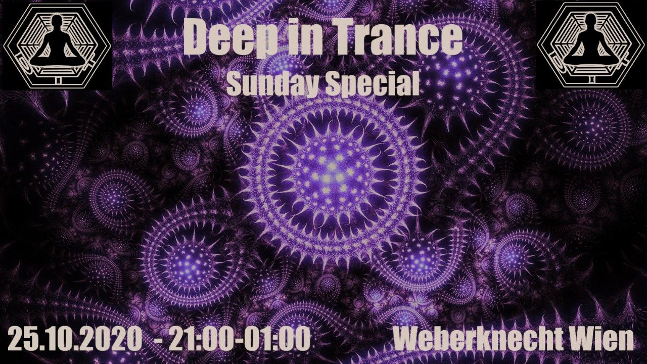 Party Flyer Deep in Trance - Sunday Special 25 Oct '20, 21:00