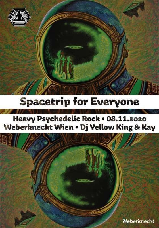 Party Flyer Spacetrip for Everyone 8 Nov '20, 20:00