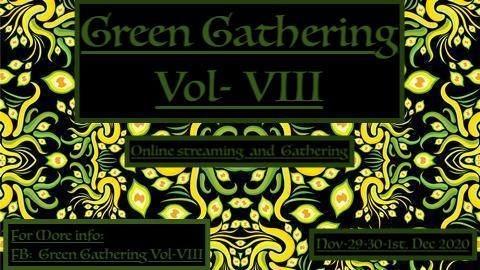 Party Flyer Green Gathering Vol-VIII 29 Nov '20, 14:00