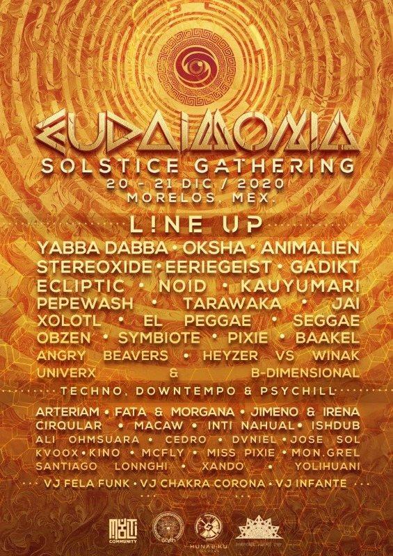 Party Flyer Solstice Gathering Eudaimonia 2020 20 Dec '20, 16:30