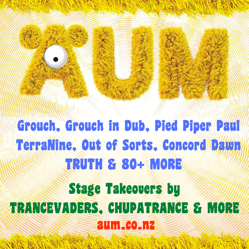 Party Flyer AUM New Year's Eve Festival 2020 30 Dec '20, 10:00