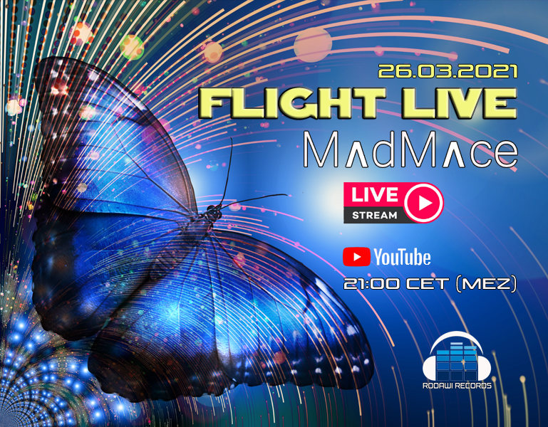 Party Flyer Flight Live 26 Mar '21, 21:00