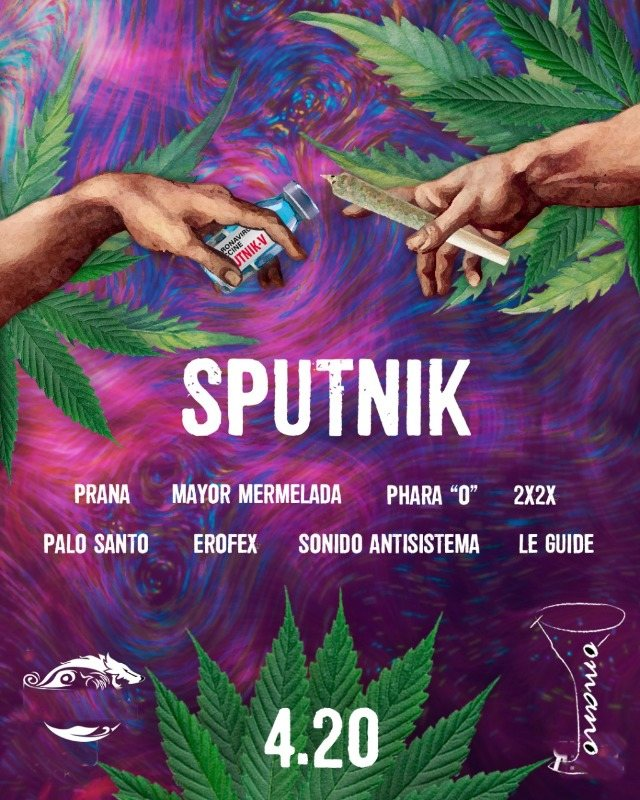 Party Flyer Sputnik 20 Apr '21, 16:00
