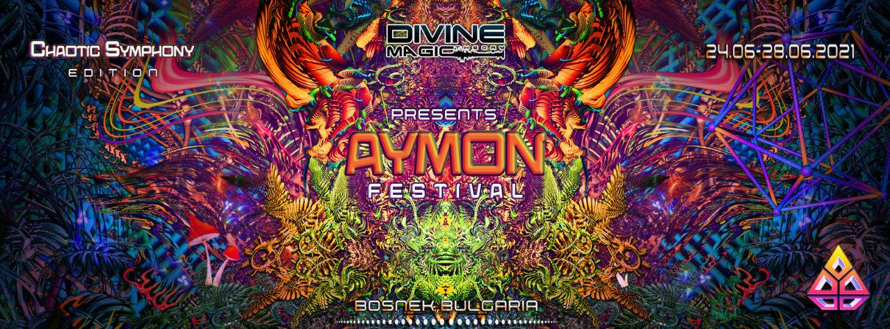 Party Flyer AYMON FESTIVAL 2021 24 Jun '21, 18:30