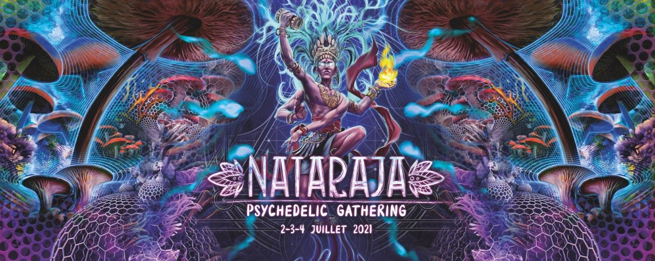 Party Flyer Nataraja Psychedelic Gathering 2021 1 Jul '21, 18:00