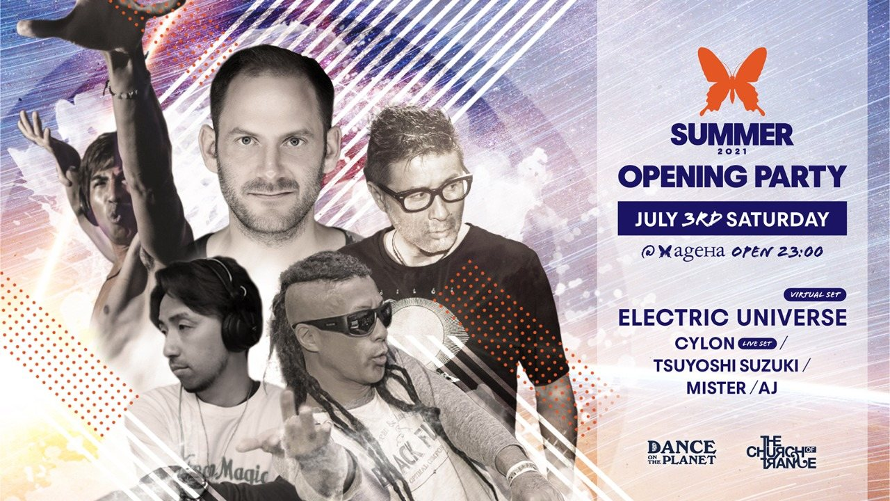 Party Flyer ageHa Summer 2021 Opening Party 3 Jul '21, 23:00