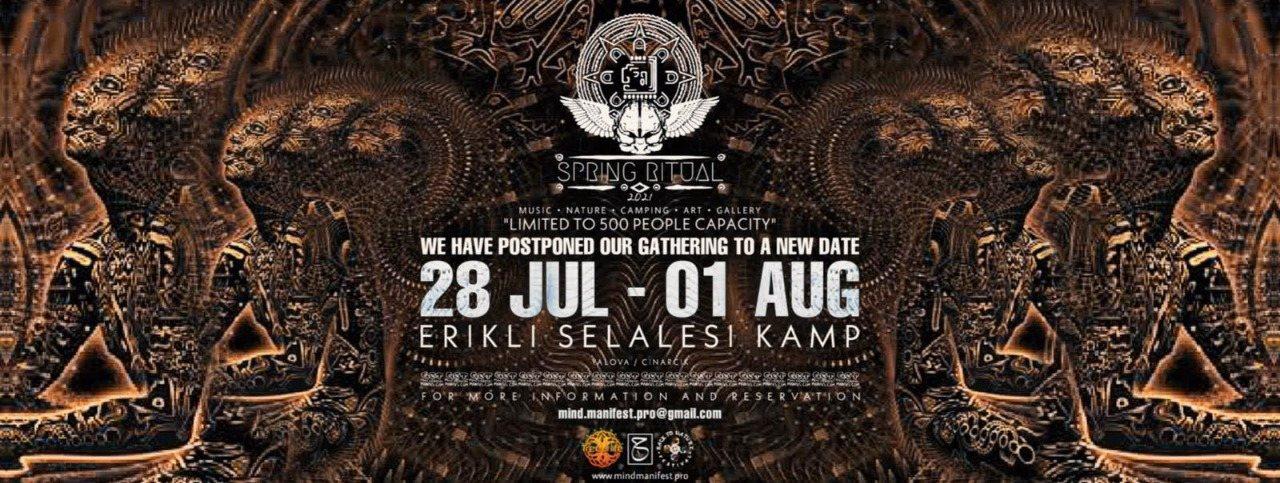 Party Flyer Spring Ritual Gathering 28 Jul '21, 22:00