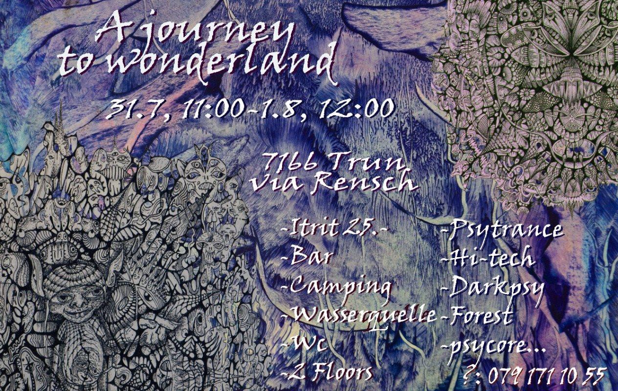 Party Flyer A journey to wonderland 31 Jul '21, 11:00