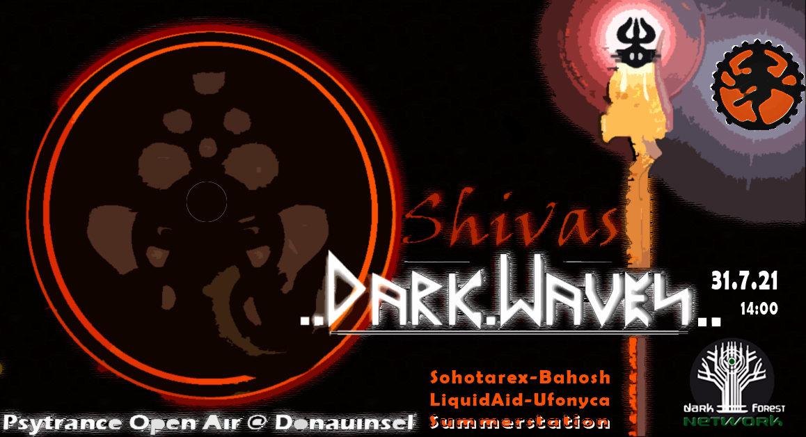 Party Flyer Shivas Dark Waves 31 Jul '21, 14:00
