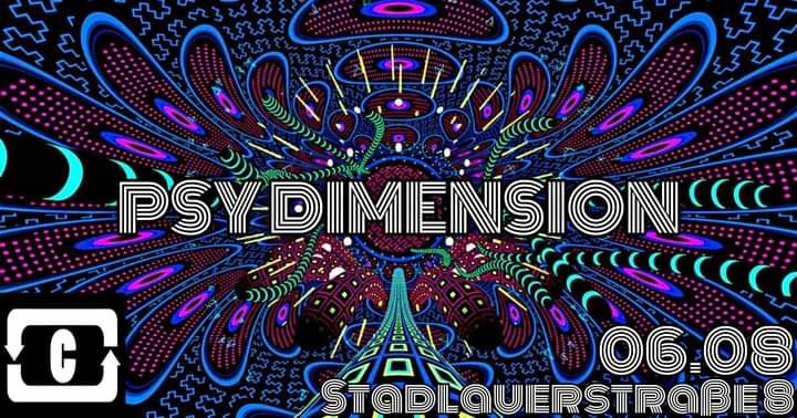 Party Flyer PSY DIMENSION 6 Aug '21, 22:00