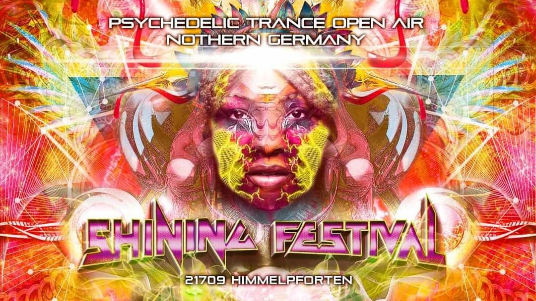 Party Flyer Shining Festival 2021 6 Aug '21, 12:00