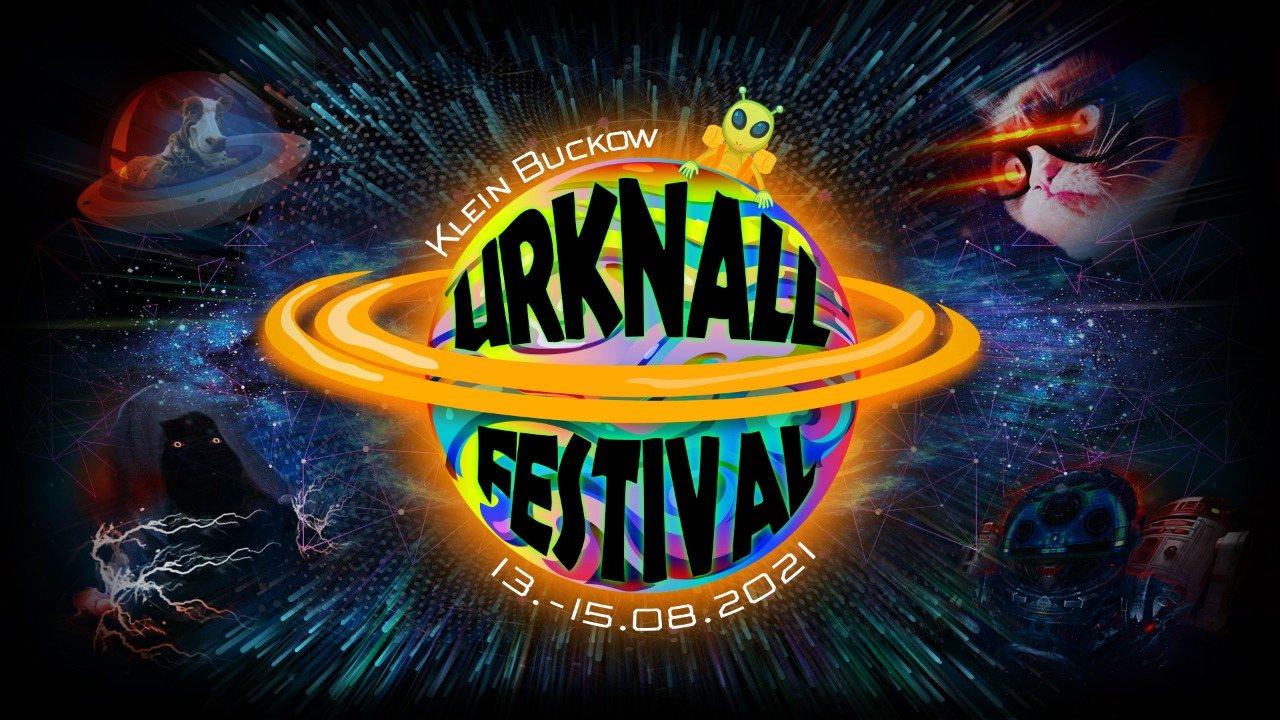 Party Flyer Urknall Festival 2021 13 Aug '21, 14:00