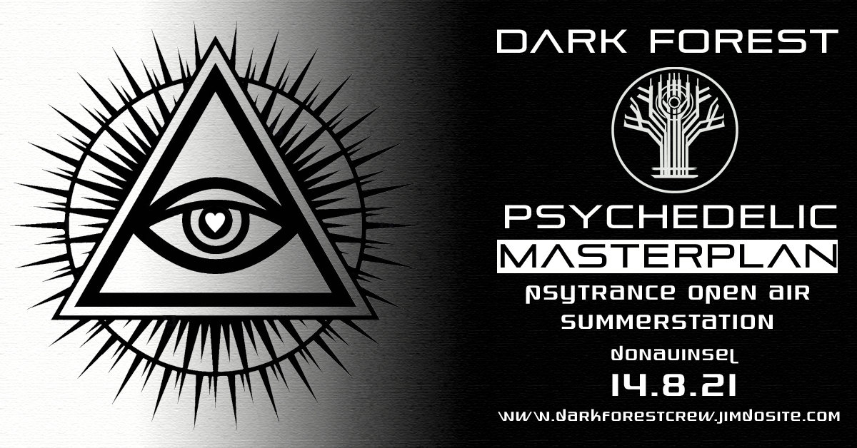 Party Flyer Psychedelic Masterplan 14 Aug '21, 14:00