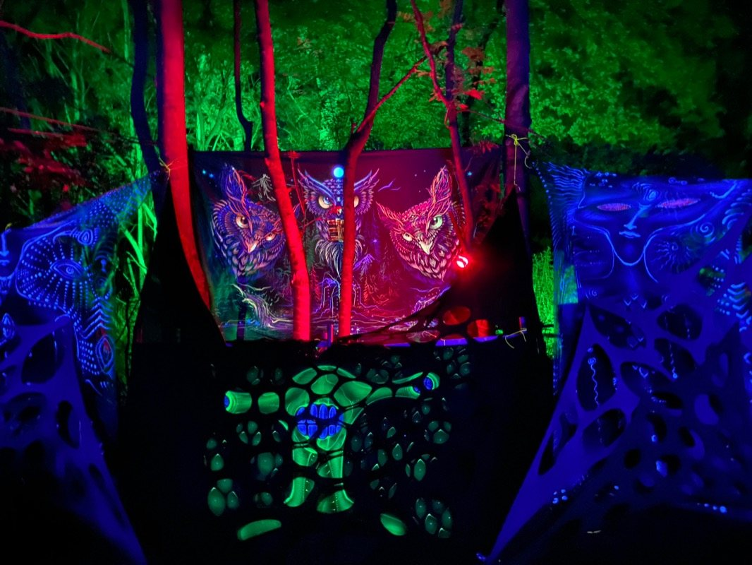 Party Flyer The Psychedelic Way in Secret Forest In London 14 Aug '21, 22:00
