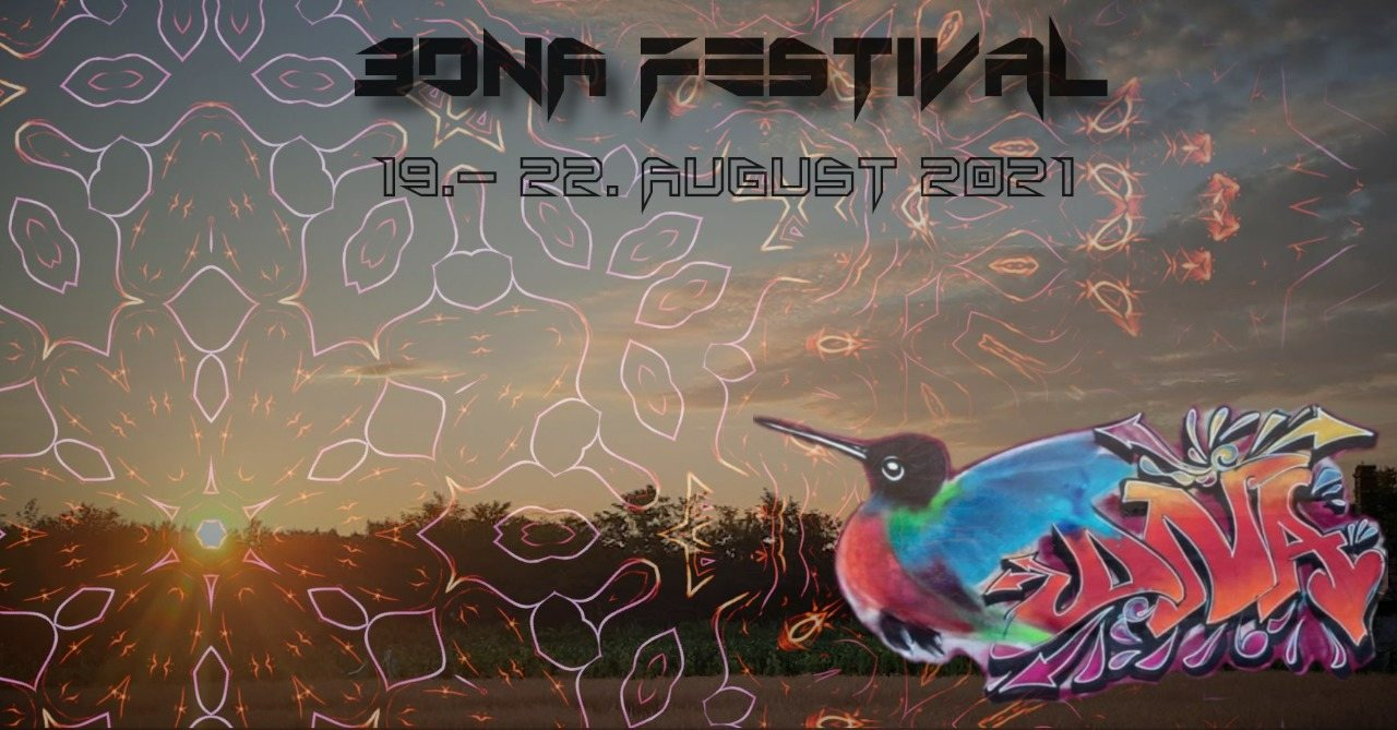 Party Flyer 3DNA Festival 19 Aug '21, 18:00
