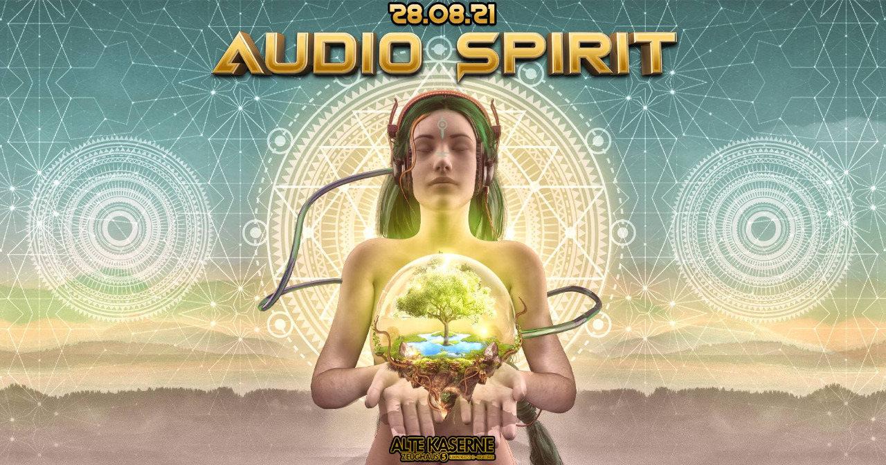 Party Flyer **Audio Spirit** 28 Aug '21, 22:30