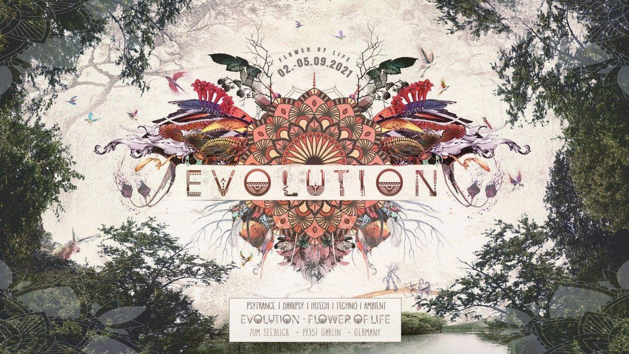 Party Flyer Evolution - Flower of Life 2 Sep '21, 18:00