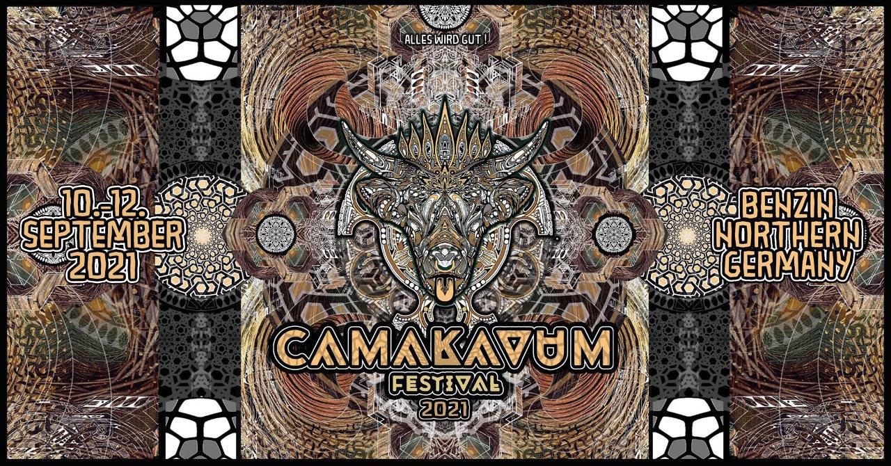 Party Flyer Camakavum Festival 2021 10 Sep '21, 16:00