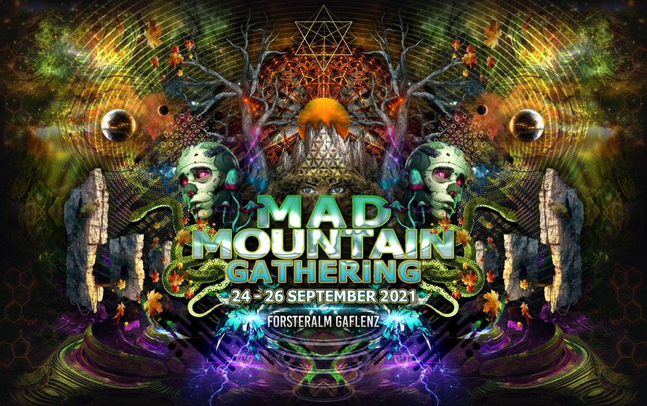 Party Flyer Mad Mountain Gathering 24 Sep '21, 12:00