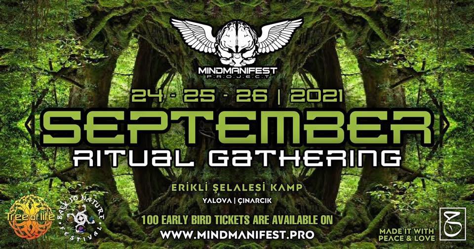 September Ritual Gathering 24 Sep '21, 10:00