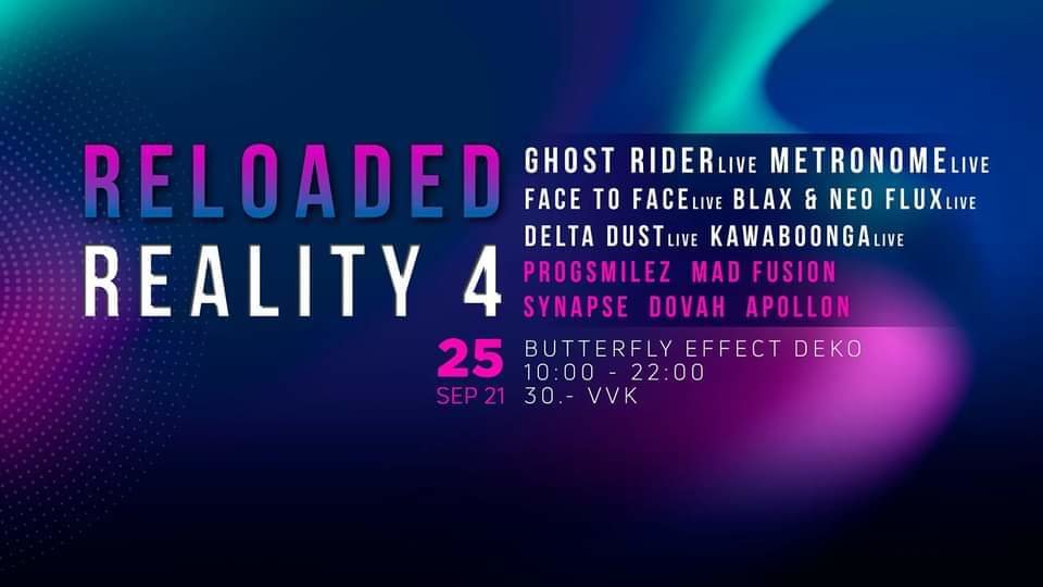 RELOADED REALITY 4 25 Sep '21, 10:00