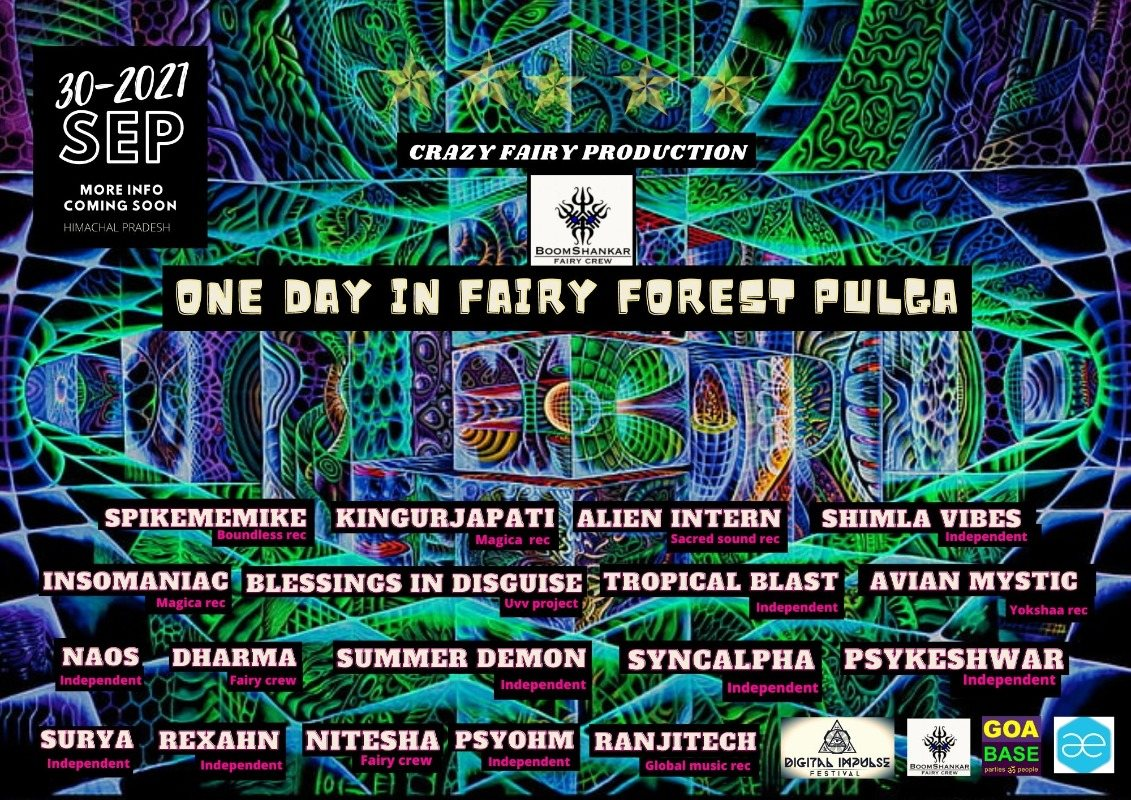 ONE DAY IN FAIRY FOREST PULGA 30 Sep '21, 10:00