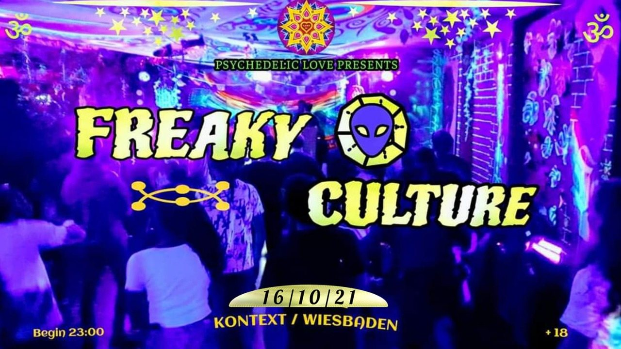 Party Flyer Freaky Culture 16 Oct '21, 23:00