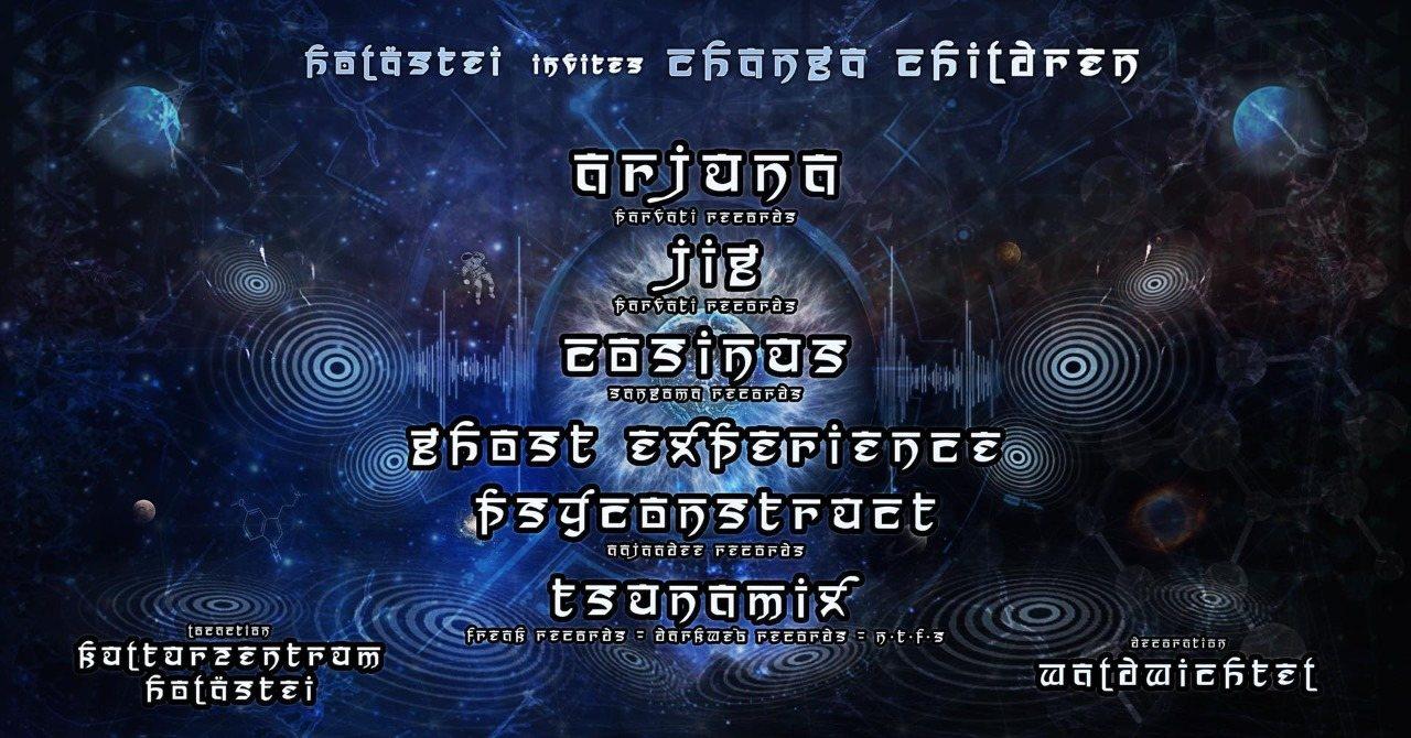 Holästei invites Changa Children w/ Arjuna 23 Oct '21, 22:30