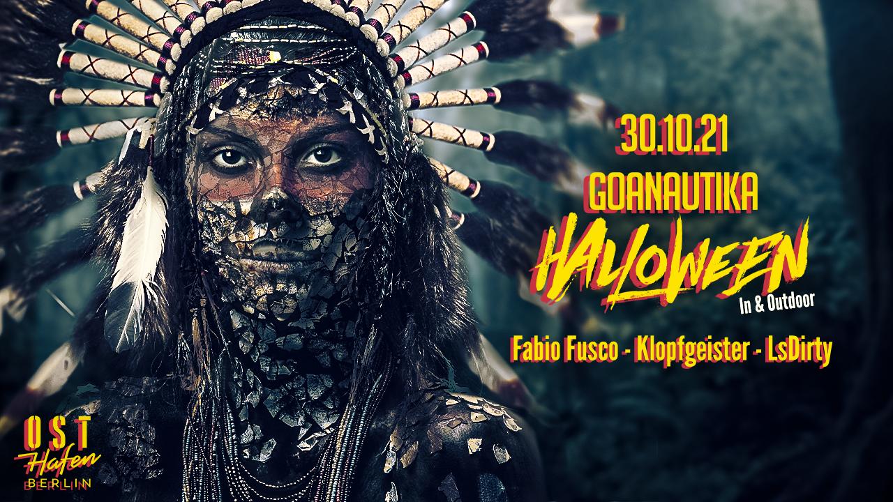 Goanautika Halloween Outdoor und Indoor /w. Fabio Fusco,Klopfgeister, LsDirty 30 Oct '21, 14:00