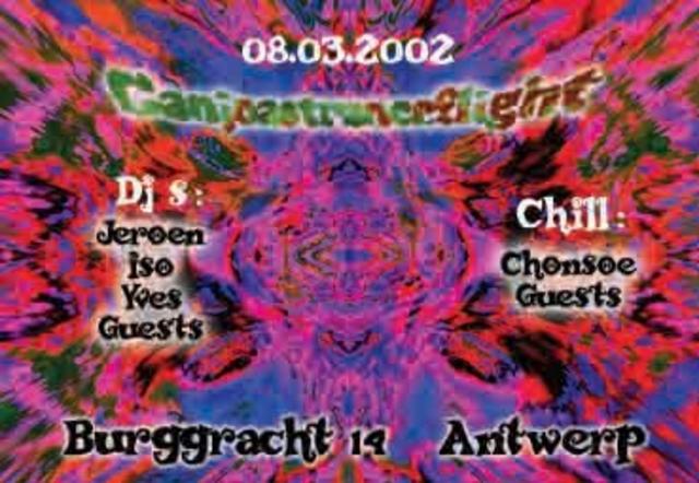 Party Flyer ganjoastranceflight 8 Mar '02, 04:30