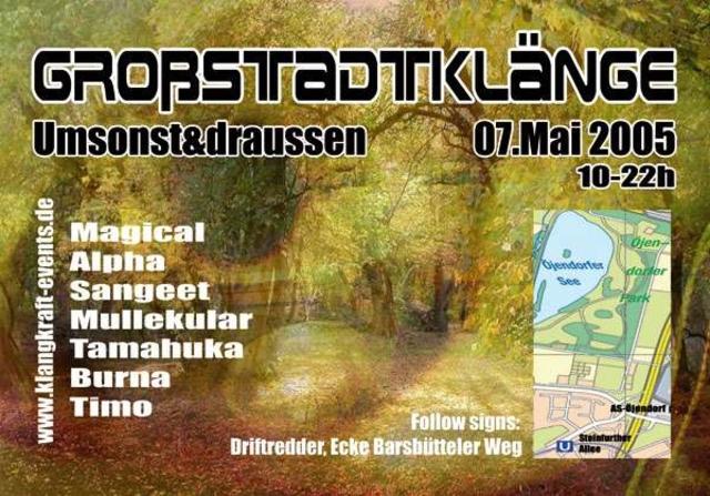 Großstadtklänge Umsonst&draussen 7 May '05, 10:00