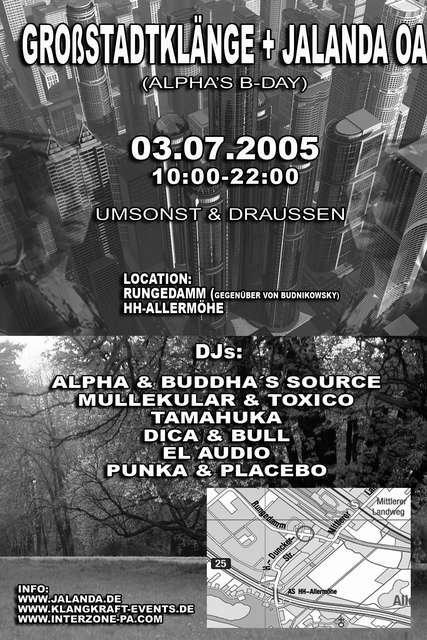 GROßSTADTKLÄNGE meets JALANDA (umsonst&draussen) 3 Jul '05, 10:00
