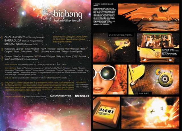 Party Flyer BIG BANG! [HedoniX 6'th Universary] 2 Sep '05, 20:00