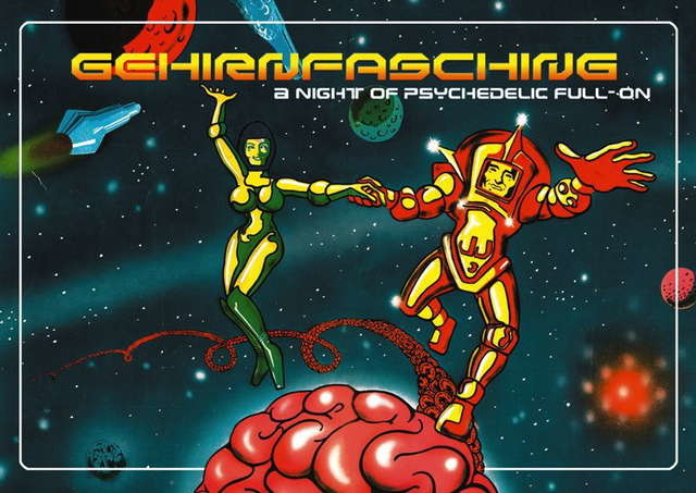 Party Flyer Gehirnfasching -A night of psychedelic full on 2 Sep '05, 22:00