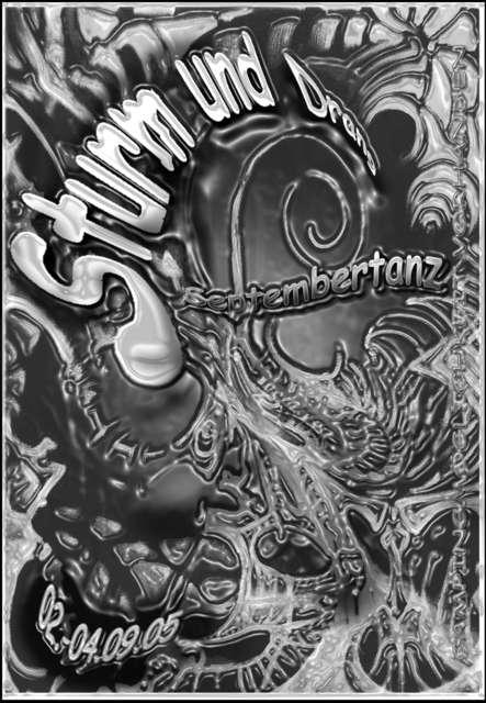 Party Flyer Sturm und Drang Septembertanz 2 Sep '05, 22:00
