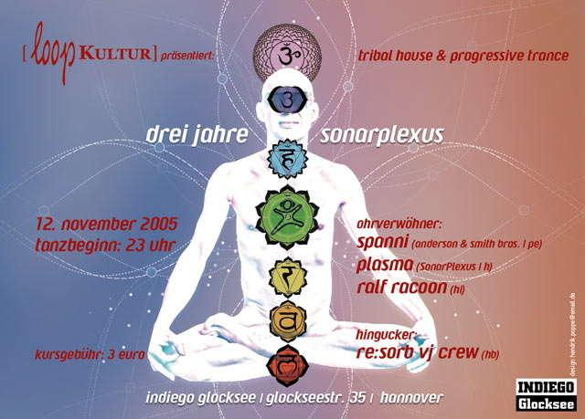 Party Flyer 3Jahre SonarPlexus 12 Nov '05, 23:00