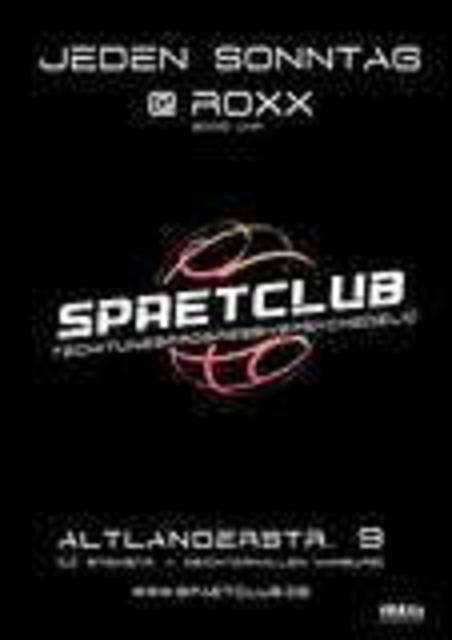 Party Flyer SPAETCLUB 13 Nov '05, 19:00
