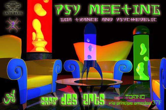 Party Flyer psy-meeting 18 Nov '05, 19:00