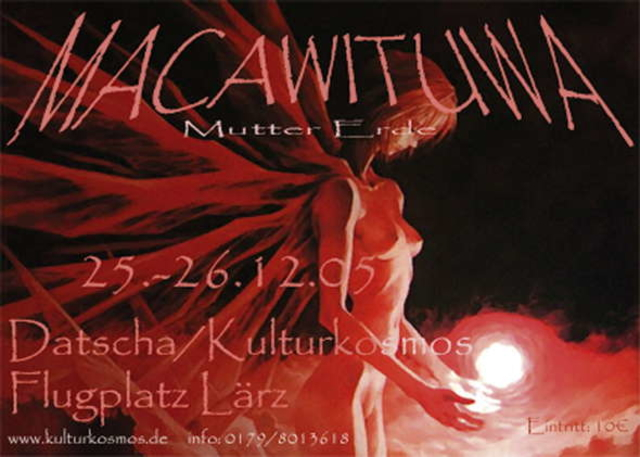 Party Flyer Macawituwa/ Mutter Erde 25 Dec '05, 22:00