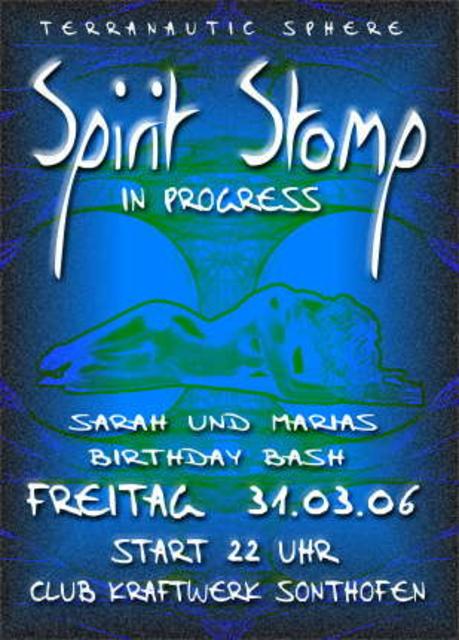 Party Flyer Spirit Stomp 31 Mar '06, 22:00