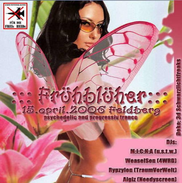 Party Flyer :::Frühblüher::: 15 Apr '06, 21:00