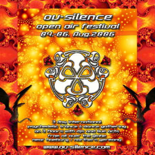 Party Flyer ov-silence 2006 - Line up + Location online! 4 Aug '06, 18:00