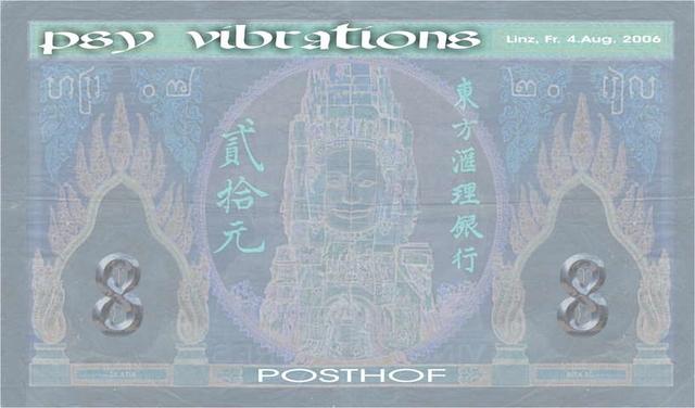 Party Flyer PSY Vibrations 4 Aug '06, 18:00