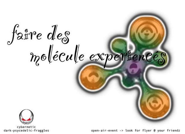 Party Flyer faire des molécule Expérience 5 Aug '06, 22:00
